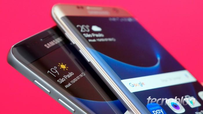 Samsung Galaxy S7 e S7 Edge (Imagem: Tecnoblog)