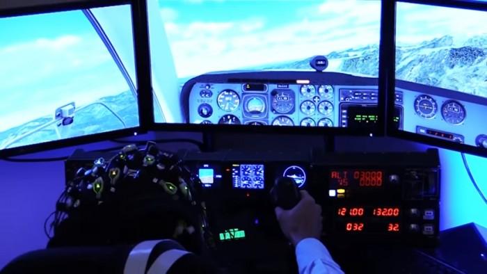 Piloto - simulação