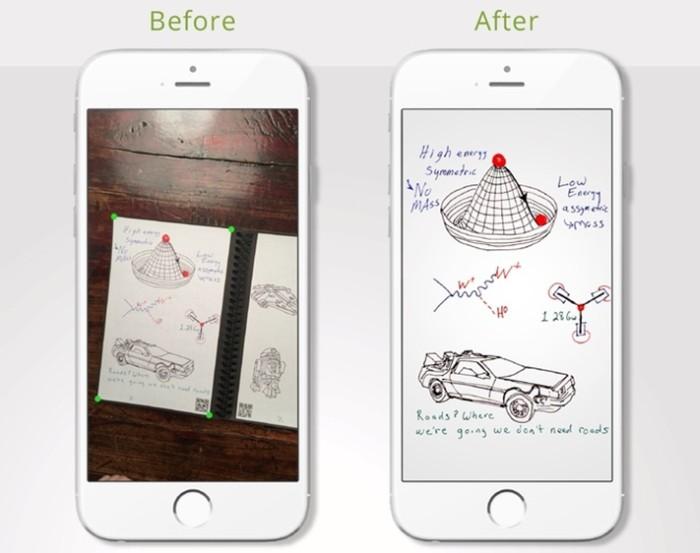 Dá até para mesclar ambas as coisas, como propõe o projeto Rocketbook Wave app