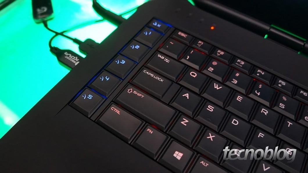 Alienware 17 - teclado
