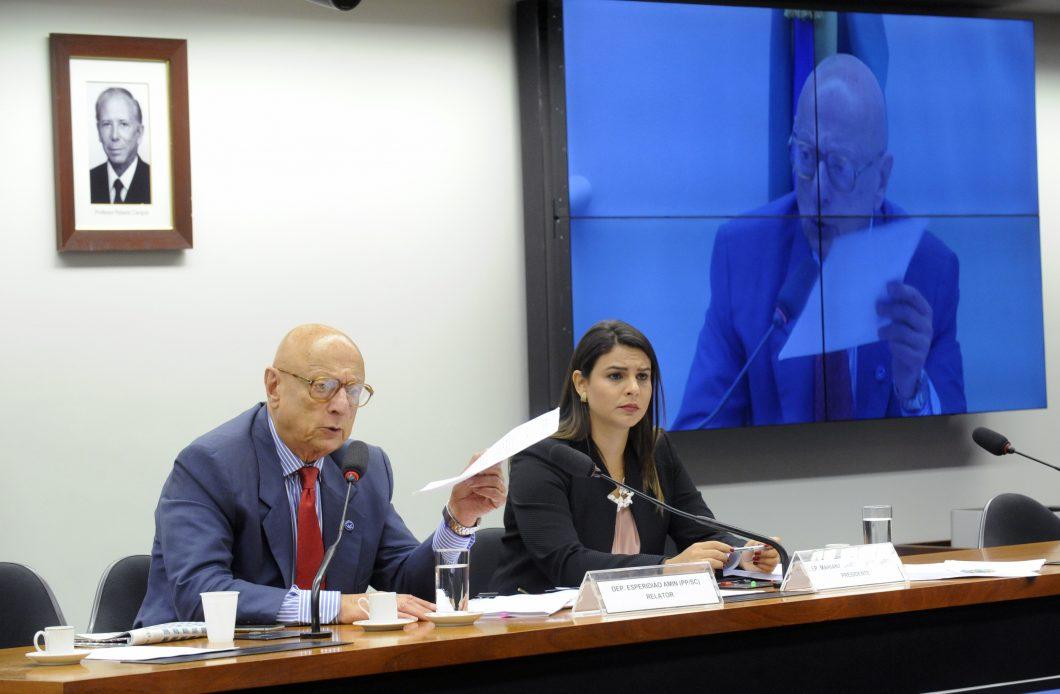O relator, Esperidião Amin, excluiu obrigação de provedores retirarem conteúdos ofensivos à honra em até 48 horas após serem notificados pelos ofendidos. (Foto: Luis Macedo / Câmara dos Deputados)