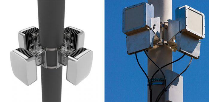 Protótipos de antenas do Terragraph