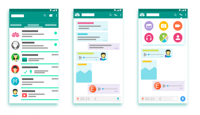 Whatsapp Voice Notes / Interface / Pixabay