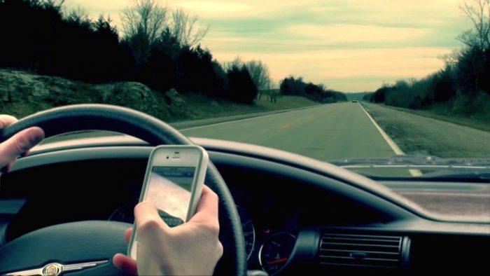 Texting - carro