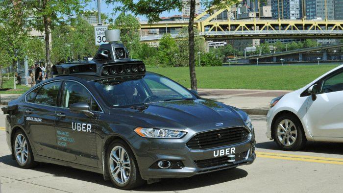 Este é o primeiro veículo autónomo da Uber