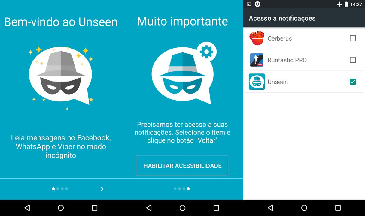 Como ver o status do whatsapp escondido android