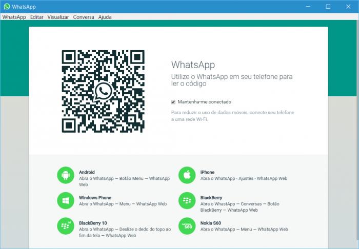 WhatsApp lança versão desktop para Windows e OS X – Tecnoblog