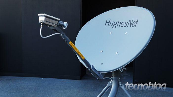 HughesNet - antena