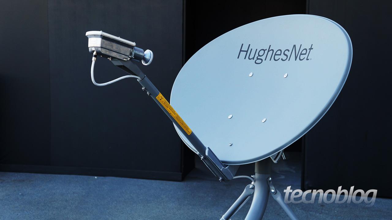 Serviço De Internet Via Satélite Hughesnet Chega Ao Brasil Tecnoblog