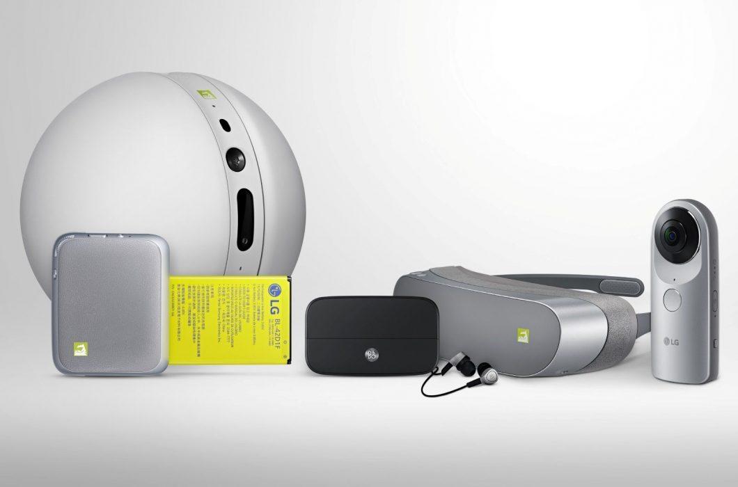 Acessórios LG Friends — a bolinha robótica Rolling Bot é outro item que não será lançado no país