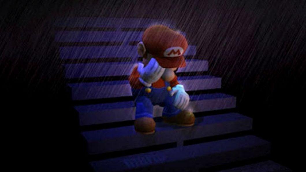Mario triste
