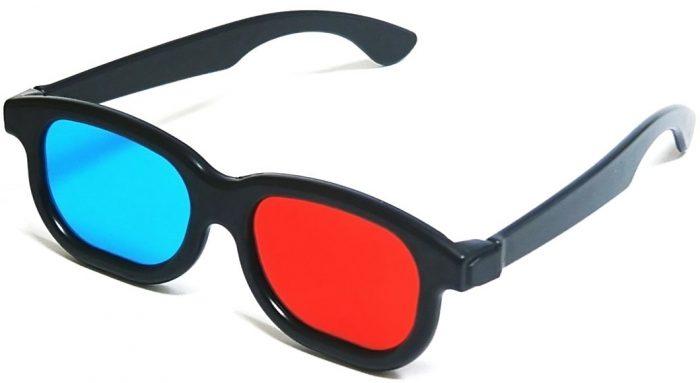 Óculos 3D - cores