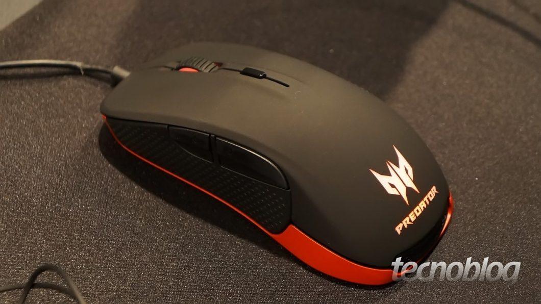 A linha Predator tem ainda acessórios como mouse e headset