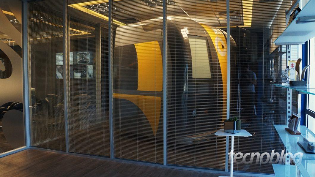 Sala do simulador
