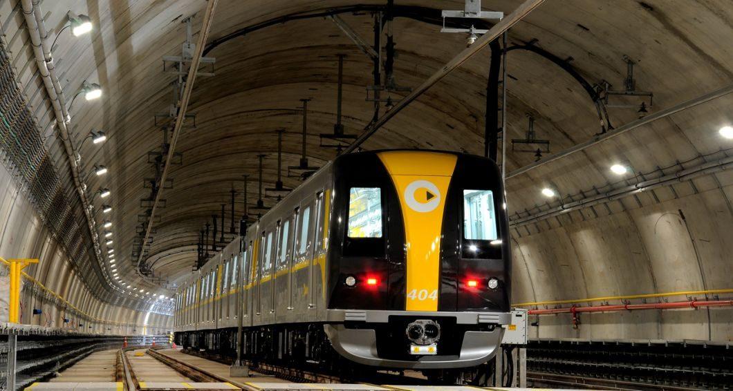 Trem da Linha 4-Amarela (Foto: Metrô de São Paulo)