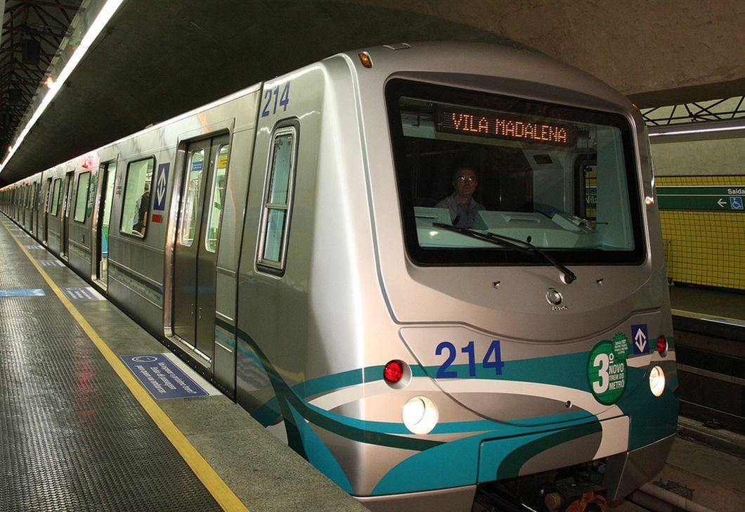 Trem da Linha 2 - Verde (Foto: Metrô de São Paulo)