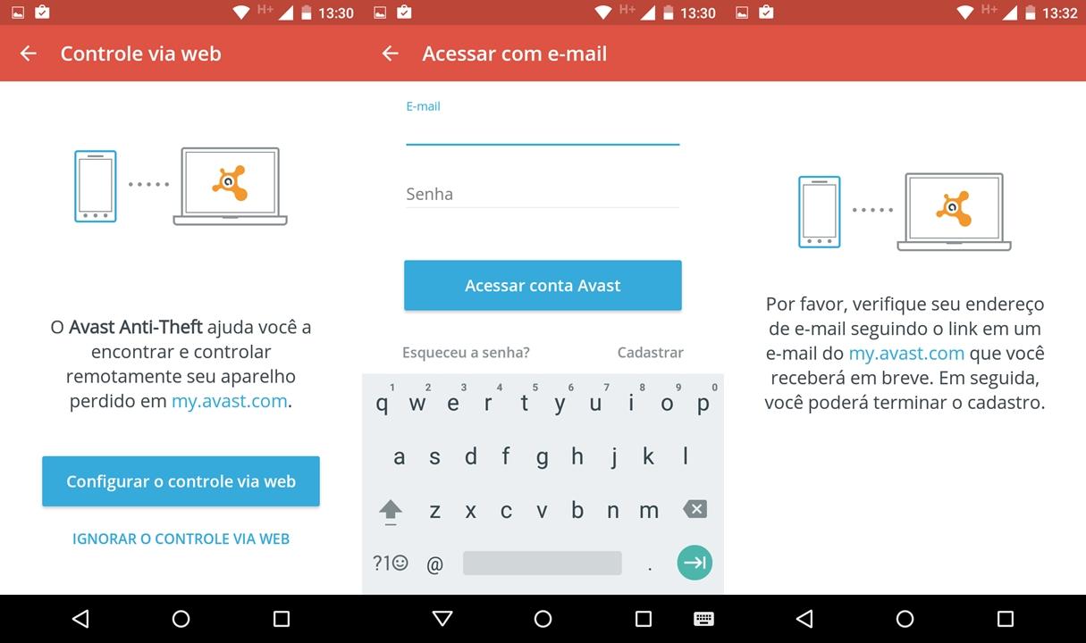 Como rastrear un celular android con avast