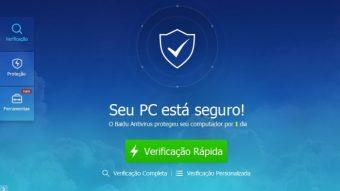 Como desinstalar o Baidu Antivirus do seu computador
