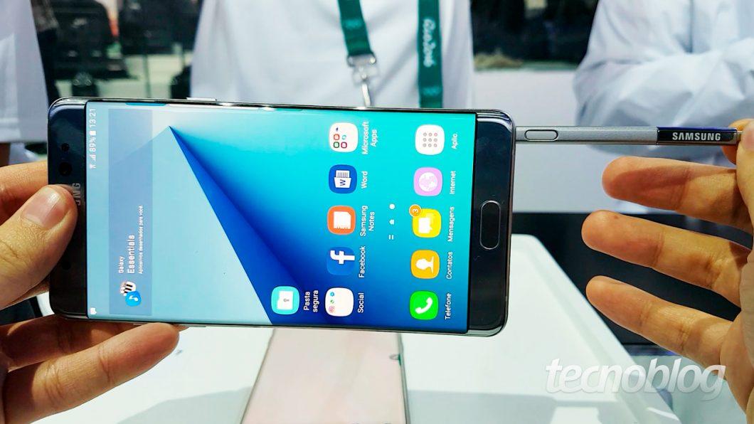 Galaxy Note 7: como fazer um bom produto sem arriscar – Tecnoblog