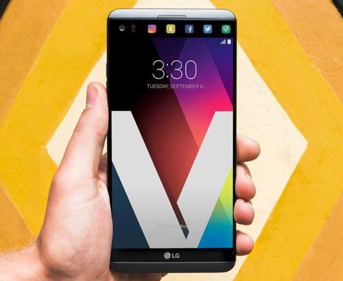 LG V20 - frente