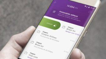 Nubank Rewards permite acumular pontos com passagens da MaxMilhas