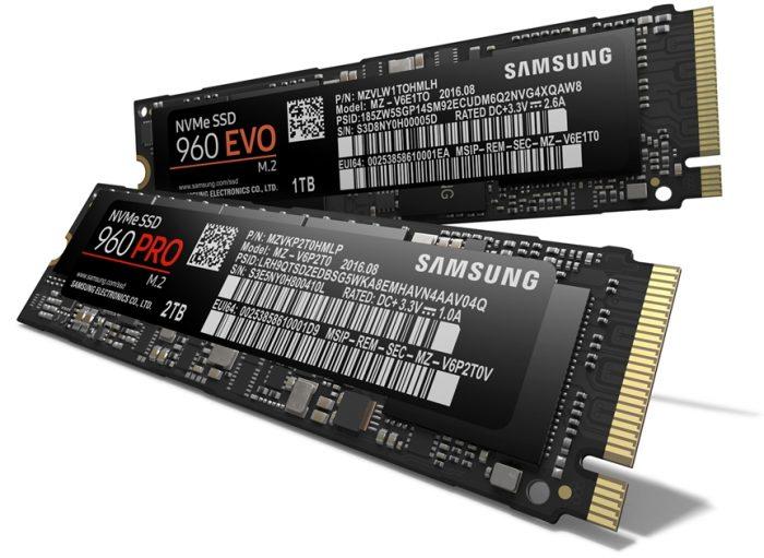 Linhas Samsung 960