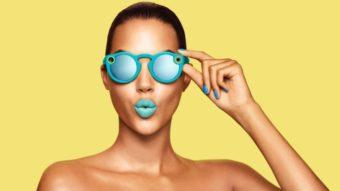 A Snap está tendo problemas com Spectacles encalhados