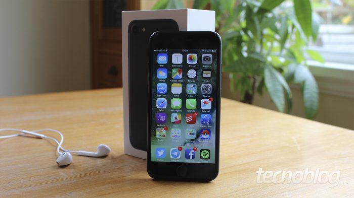 iPhone 7 / diferença entre iphone 6s e 7