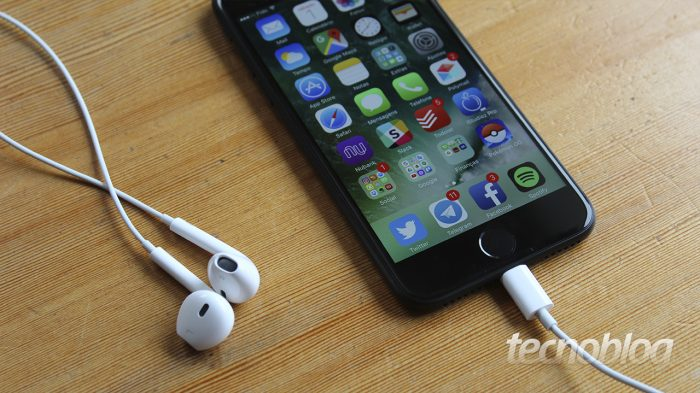 Apple EarPods / tipos de fones de ouvido