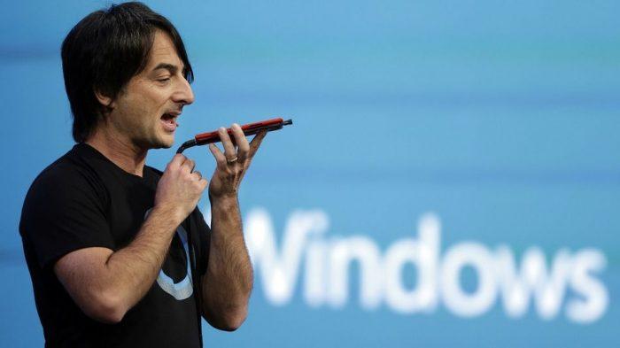 Microsoft - reconhecimento de voz