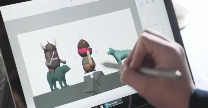 Microsoft / Paint 3D / como deixar uma imagem com fundo transparente no paint