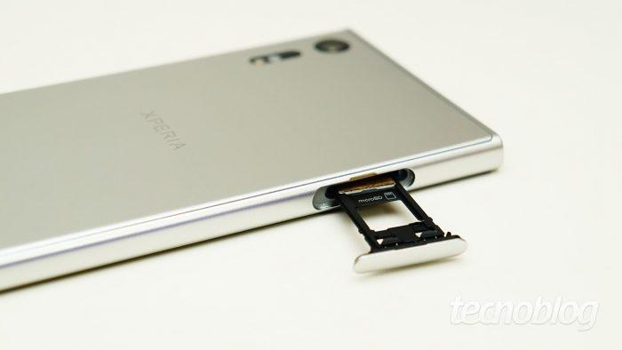 Sony Xperia XZ / como mover aplicativos para o cartão sd
