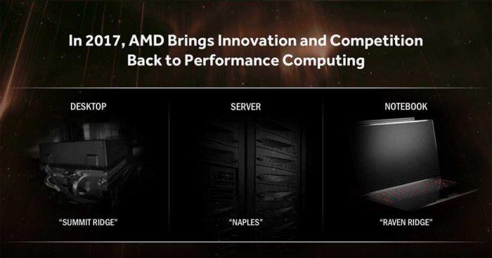 AMD Zen - 2017