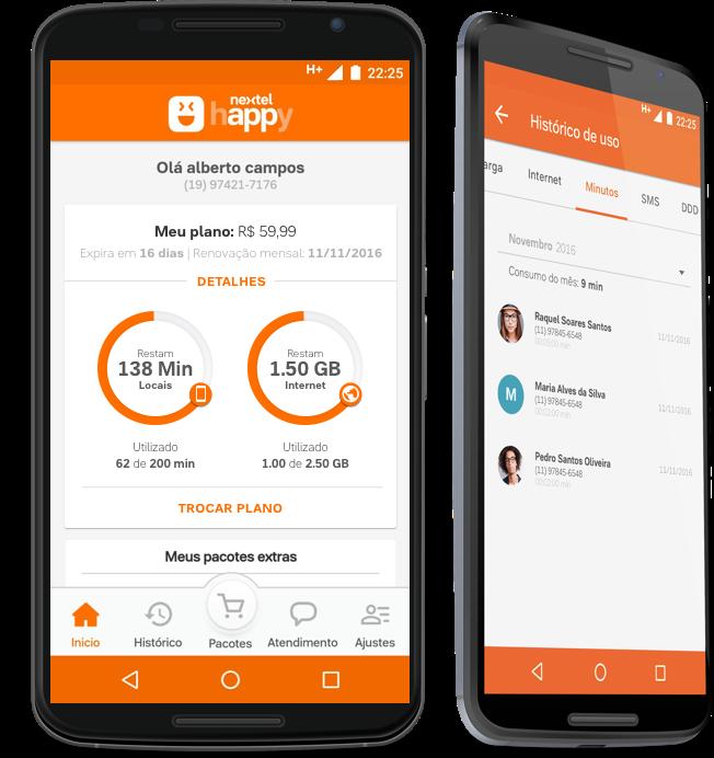 Nextel lança Happy, plano de celular que pode ser controlado por aplicativo