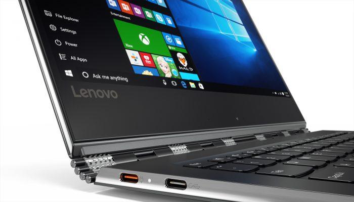 Yoga 910 es el portátil ultradelgado de Lenovo $ 10,999