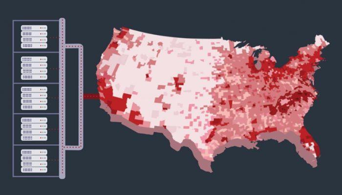 Methbot nos Estados Unidos
