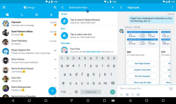 Mingo promete ser mais leve e mais eficiente que o Skype