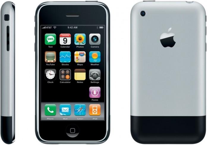O primeiro iPhone