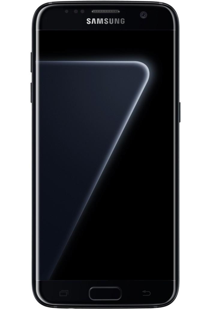 Galaxy S7 Edge Black Piano