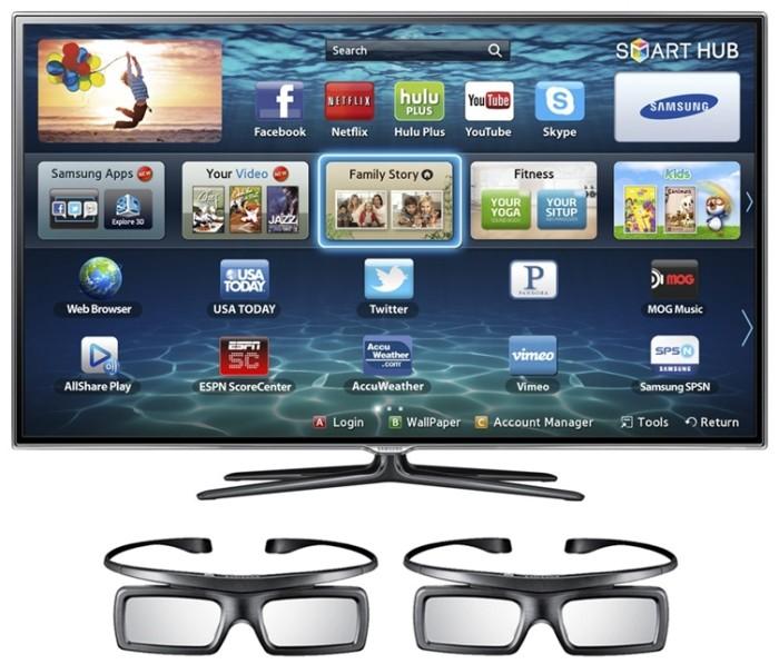 TV 3D Samsung