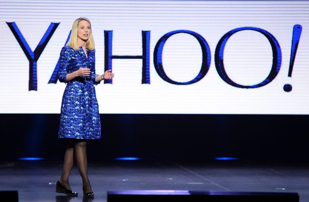 Yahoo + Marissa Mayer