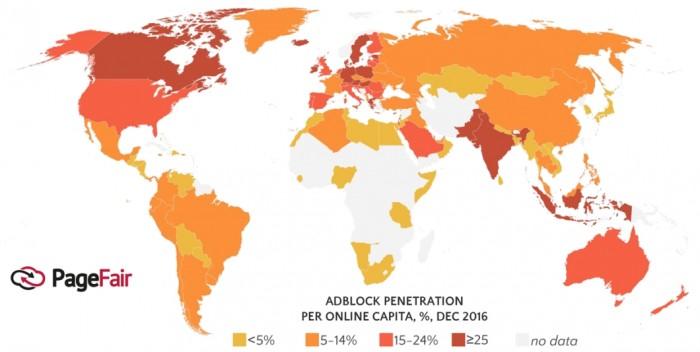 Adblock - global 2016