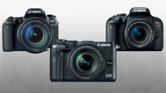 Canon anuncia três novas câmeras: Rebel T7i, 77D e M6