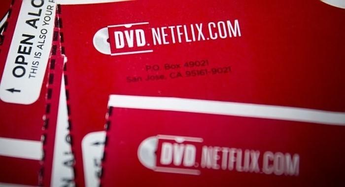DVDs Netflix