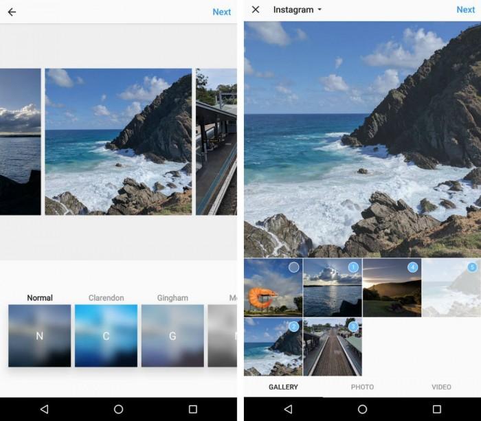 Instagram testa álbuns de fotos