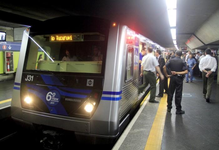 Resultado de imagem para metrô são paulo