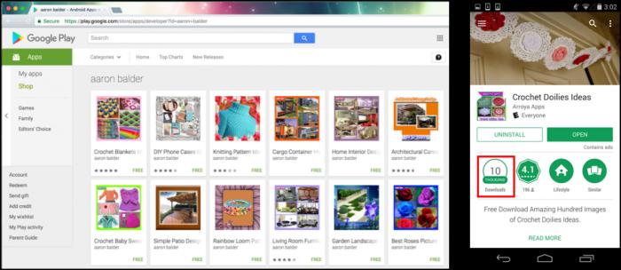 Las aplicaciones de Play Store vienen con malware para ... Windows