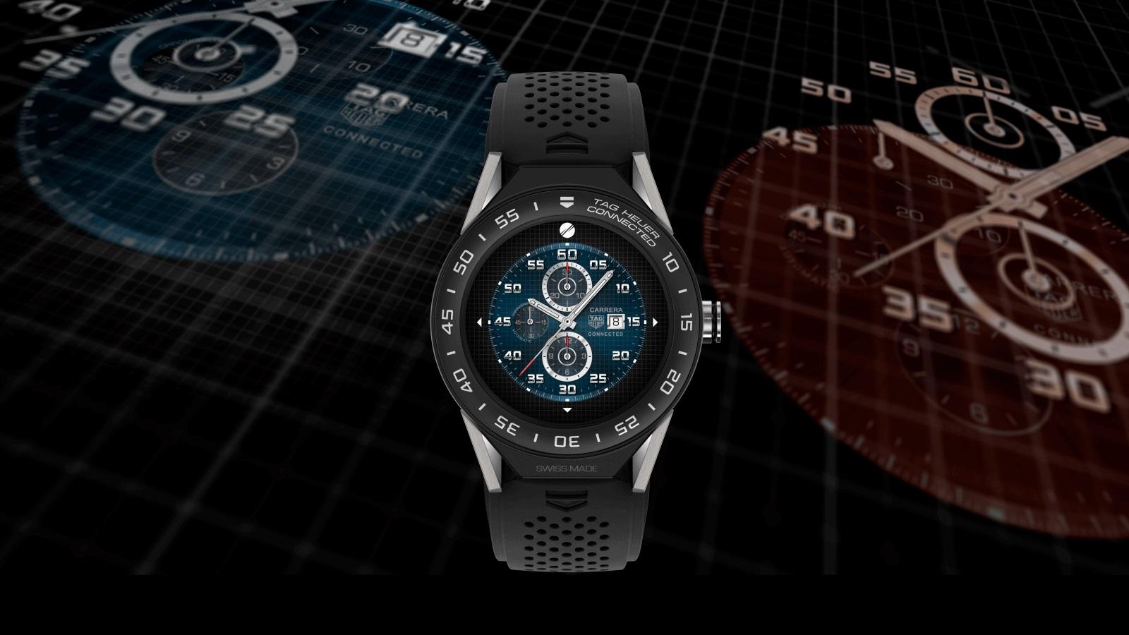 b727e807ecd Tag Heuer anuncia smartwatch modular de luxo com Android Wear e ...