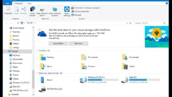 Como remover os anúncios no explorador de arquivos do Windows 10