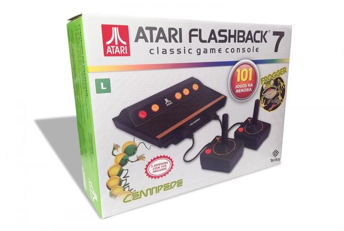 Tectoy relanza la consola clásica de Atari con 101 juegos de memoria 2